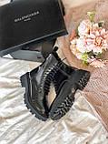 Жіночі шкіряні черевики Balenciaga (Баленсіага), фото 9