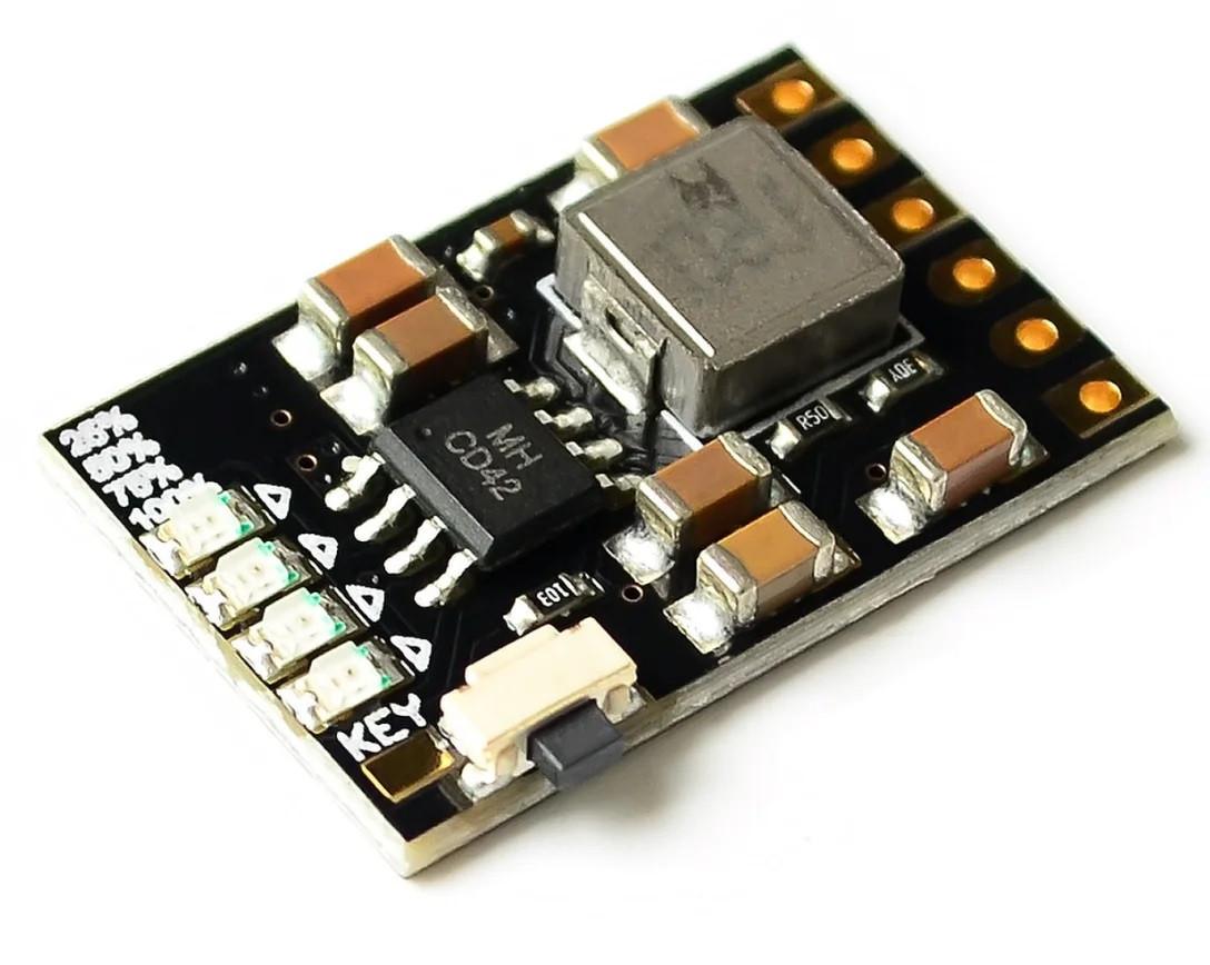 Модуль захисту заряду/розряду з індикацією Li-Ion 18650 1S 4.2 3.5 А