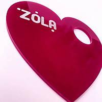 """Палитра для смешивания """"ZOLA"""", сердце"""