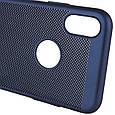 "Ультратонкий дышащий чехол Grid case для iPhone X (5.8"") / XS (5.8""), фото 5"