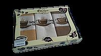 """Набор полотенец Varol для кухни 40*70 """"Coffee 104"""" 3-ка"""