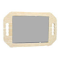 Зеркало для клиента прямоугольное (полоска) 40*25см