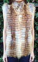 Жилет из меха лисы., фото 1