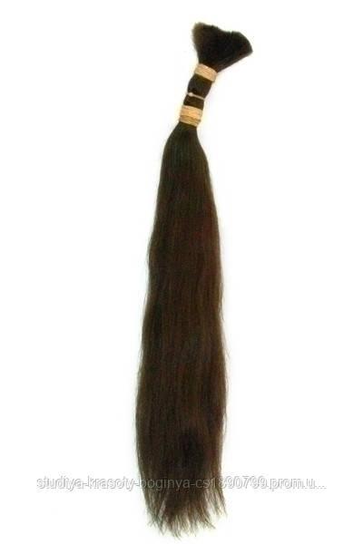 """Славянские Волосы 45 см  Каштан (02 color) - Студия Волос """"Elite Hair""""    в Днепре"""
