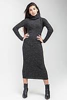 Вязаное платье миди, фото 1