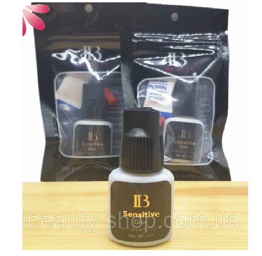 Клей I-Beauty Sensitive, гипоалергенный 2-3 сек., 5 мл