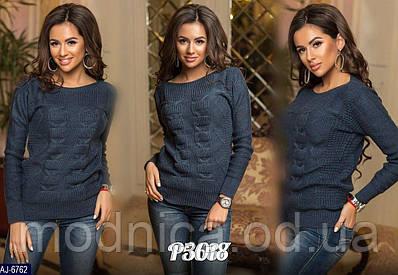 Жіночий вовняний светр, розмір універсальний