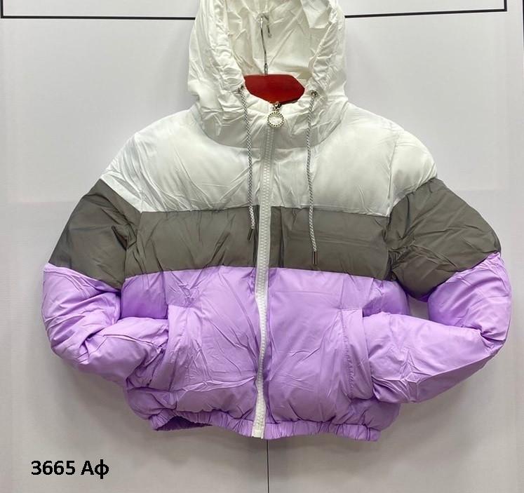 Очень стильная женская куртка 3665 Аф