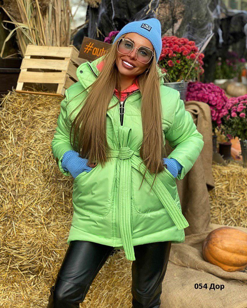 Модная женская куртка осень-зима 054 Дор