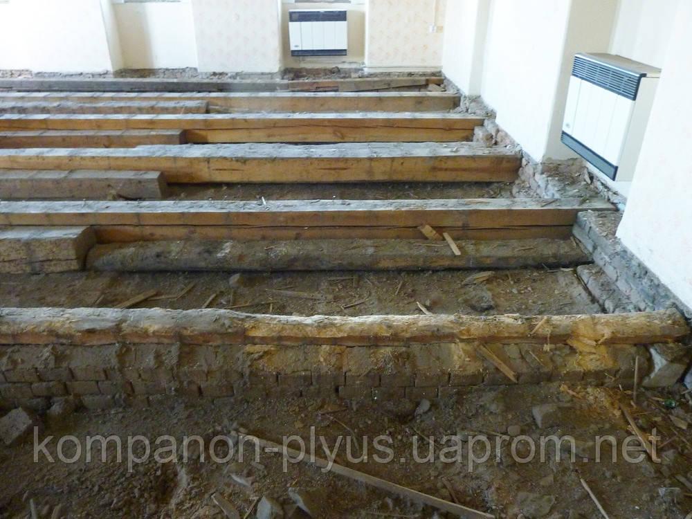 Демонтаж дерев'яного статі паркету Злам бетонних підлог Розбирання старої підлоги