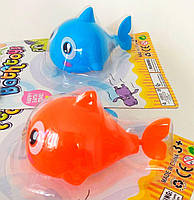 Заводная рыбка для воды,заводные игрушки для купания (цена за 1 шт), фото 1