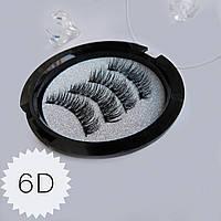 Магнитные ресницы Magnetic lashes на 3 магнита 6D