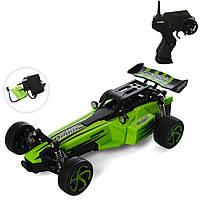 Детская игрушечная машинка Варан Зелено-черная (М 3947 U) на радиоуправлении