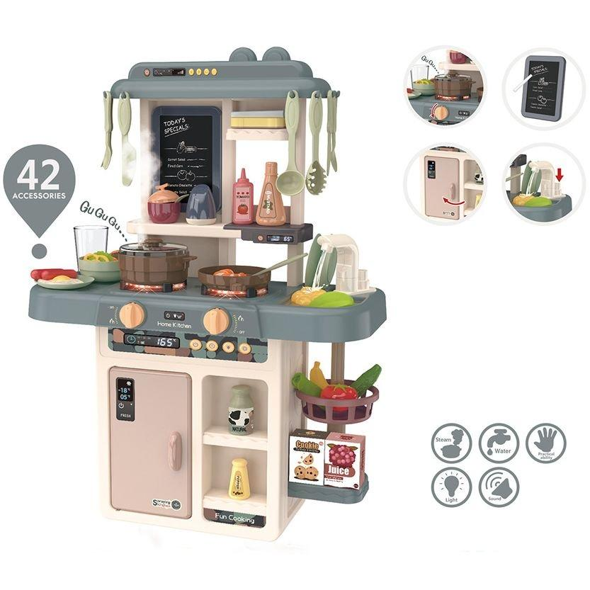 Детская игровая Кухня Tilly 889-187 Серая