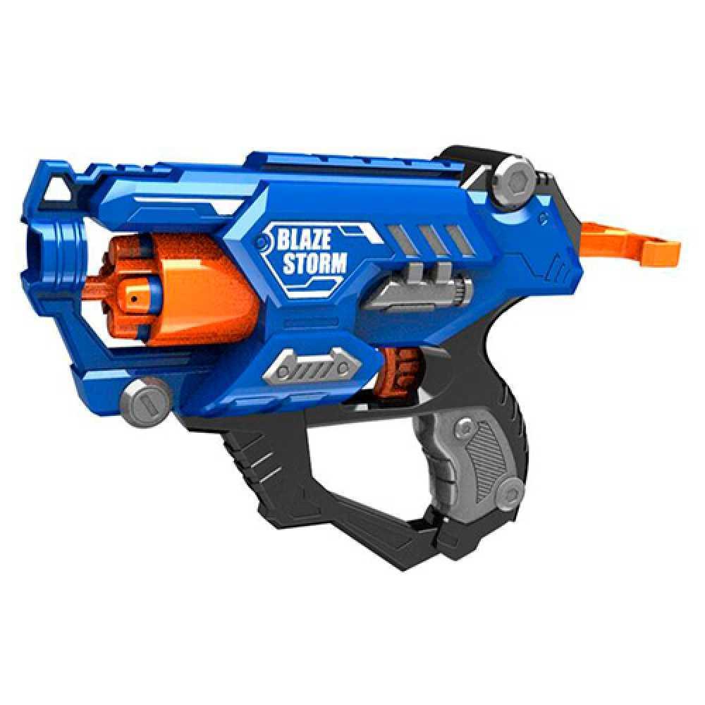 Детская игрушечное оружие Blaze Storm Soft Bullet Gun, 10 патронов (ZC7118)