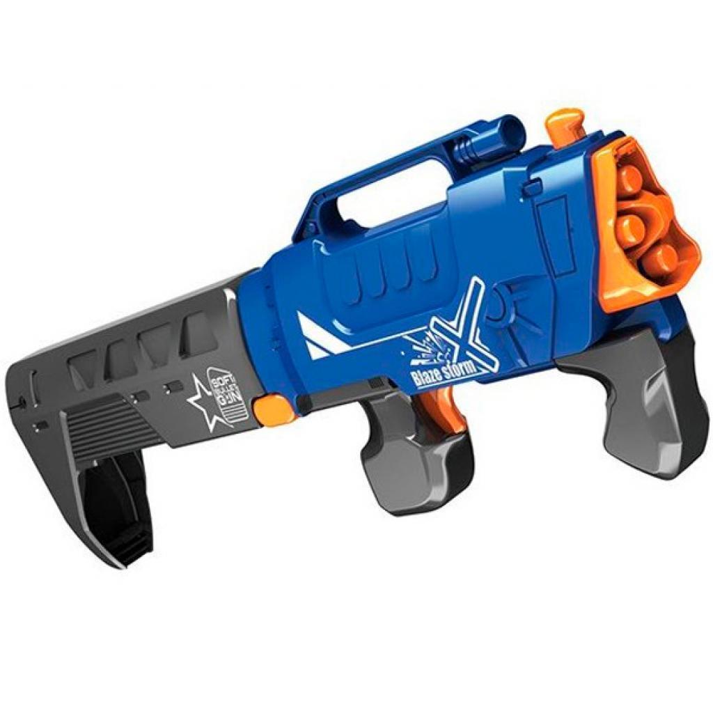 Детская игрушечное оружие Blaze Storm Soft Bullet Gun, 20 патронов (ZC7102)