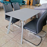 Стол TM-170 серый 120/160х80х75 (бесплатная доставка), фото 2