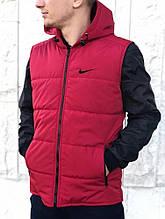 Жилетка Nike (Найк) красная