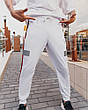 Cпортивные штаны Пушка Огонь Wline белые, фото 3