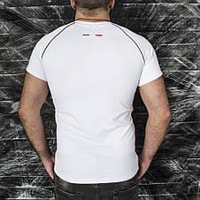 Спортивная футболка Puma белая, фото 2