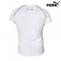 Спортивная футболка Puma белая, фото 3