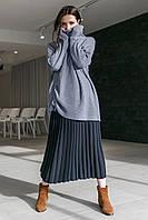 Вільний светр-туніка, фото 1