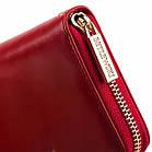 Шкіряний гаманець BETLEWSKI з RFID 19.5 х 9.5 х 2.5 (BPD-OL-5201) - червоний, фото 4