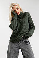 Демисезонный свитер свободного силуэта, фото 1