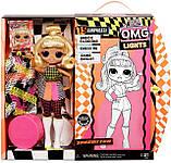 Кукла Лол серия OMG неоновая Спидстер, L.O.L. Surprise! O.M.G. Lights Speedster Оригинал из США, фото 3