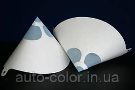 Фільтр для фарби паперовий з нейлоновим ситом 125 мікрон.
