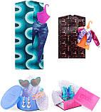 Ігровий набір з лялькою ЛОЛ Диско-Скейтер, L. O. L. Surprise! O. M. G. Roller Chick, оригінал з США, фото 7