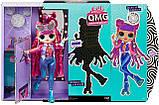 Игровой набор с куклой ЛОЛ Диско-Скейтер, L.O.L. Surprise! O.M.G. Roller Chick, оригинал из США, фото 5
