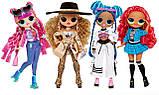 Ігровий набір з лялькою ЛОЛ Диско-Скейтер, L. O. L. Surprise! O. M. G. Roller Chick, оригінал з США, фото 8