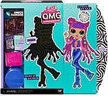 Ігровий набір з лялькою ЛОЛ Диско-Скейтер, L. O. L. Surprise! O. M. G. Roller Chick, оригінал з США, фото 2