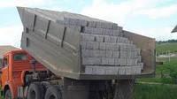 Блоки ФБС 24-4-6т с доставкой самосвалами