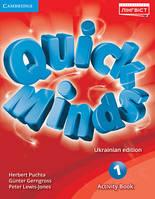 QUICK MINDS (UKRAINIAN EDITION) НУШ 1 ACTIVITY BOOK. Puchta G. ( ПУХТА Г.)