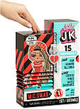 L. O. L. Surprise! JK M. C. Swag, Свэг Модна міні лялечка з 15 сюрпризами, Оригінал з США, фото 2