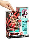 L.O.L. Surprise! JK M.C. Swag, Свэг Модная мини куколка с 15 сюрпризами, Оригинал из США, фото 2