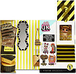 L.O.L. Surprise! JK .Queen Bee Королева Пчелка Модная мини куколка с 15 сюрпризами, фото 3