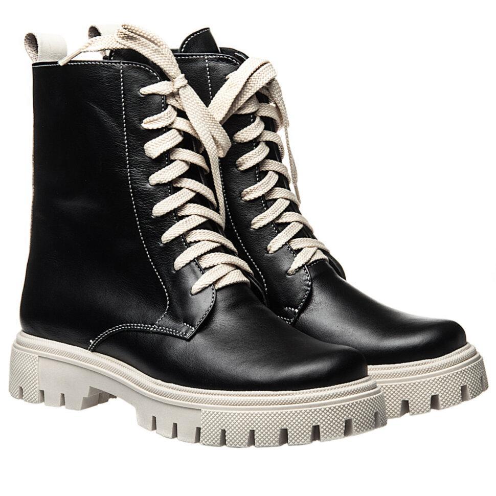 Ботинки La Rose 2330 36(23,4см) Черная кожа ДЕМИСЕЗОННЫЕ