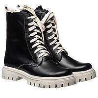 Ботинки La Rose 2330 36(23,4см) Черная кожа ДЕМИСЕЗОННЫЕ, фото 1