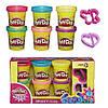 Пластилін Play-Doh (до Плей) Набір пластиліну з 6 баночок Блискуча колекція Hasbro (Хасбро)