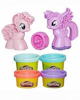 """Пластилин Play-Doh (Плей до) Игровой набор """"Пони: Знаки Отличия"""" Hasbro (Хасбро)"""
