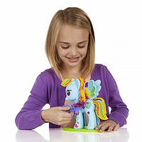 "Пластилин Play-Doh (Плей до) Игровой набор ""Стильный салон Рэйнбоу Дэш"" Hasbro (Хасбро)"