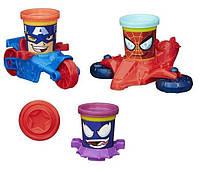 Пластилин Play-Doh (Плей до) Транспортные средства героев Марвел Hasbro (Хасбро)
