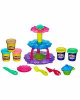 """Пластилин Play-Doh (Плей до) Игровой набор """"Башня из кексов"""" Hasbro (Хасбро)"""
