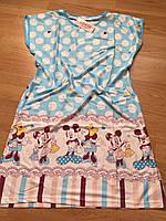 Туника красивая, молодежная ночная рубашка 46-50, фото 1