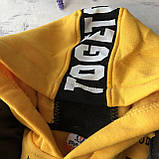 Теплый костюм с начесом и жилеткой на мальчика 414. Размер 104 см, фото 3