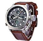 Мужские Наручные армейские часы AMST, кварцевые наручные мужские часы АМСТ, фото 2