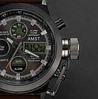 Мужские Наручные армейские часы AMST, кварцевые наручные мужские часы АМСТ, фото 3